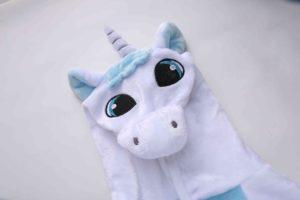 Pyjama Licorne bleu (tête)