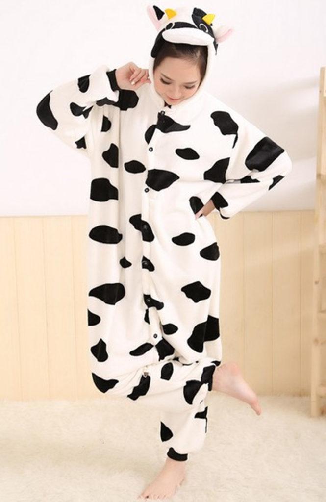 Pyjama Vache (face)