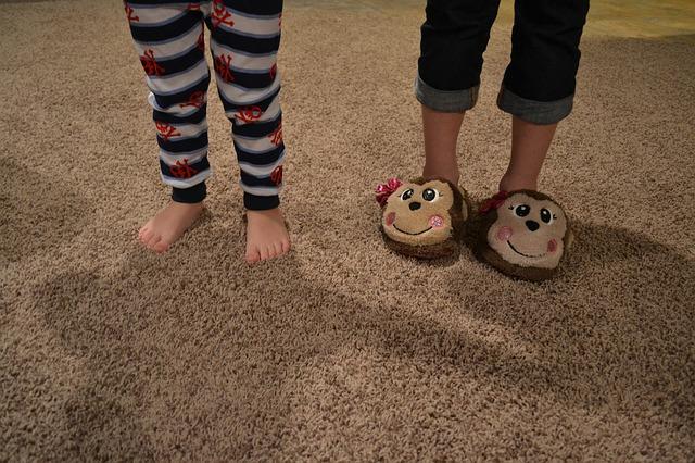 Des chaussons rigolos pour les petits