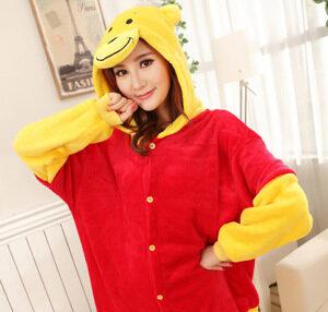Pyjama Winnie l'Ourson (face)