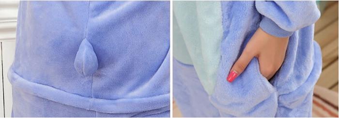 Grenouillère Stitch (poche)
