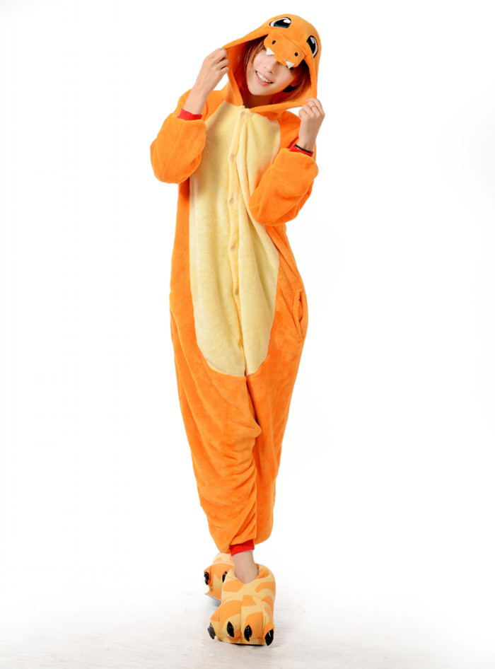 Pyjama Pokémon Salamèche (face)