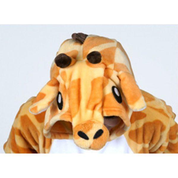 Grenouillère Girafe (capuche)