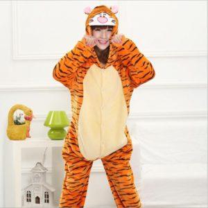 Grenouillère Pyjama Tigre Tigrou (face)