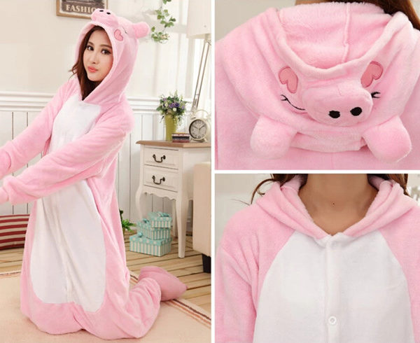 Pyjama Cochon rose (divers)