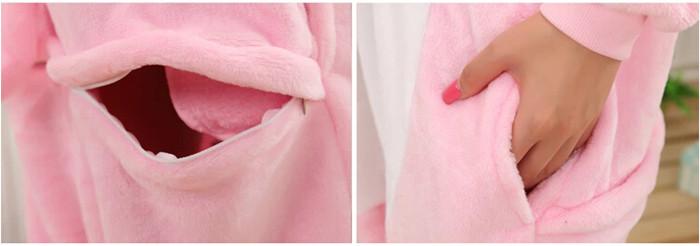 Grenouillère Cochon (poches)