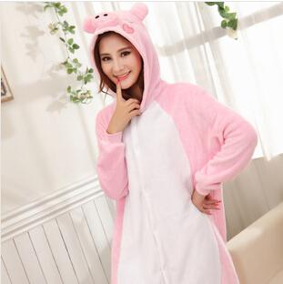 Pyjama Cochon rose (face)