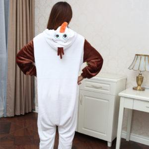 Pyjama Olaf (La Reine des Neiges) (dos)