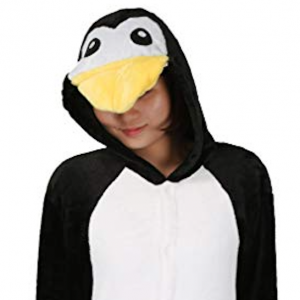 capuche pyjama pingouin