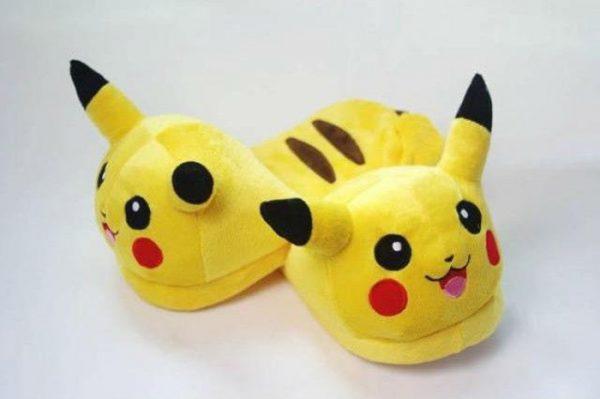 KIZAOD Chausson Pantoufle Pikachu face
