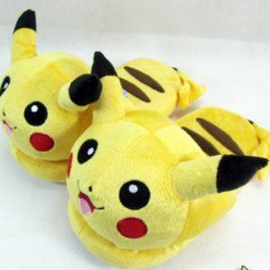 KIZAOD Chausson Pantoufle Pikachu zoom