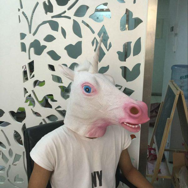 Masque Licorne profil