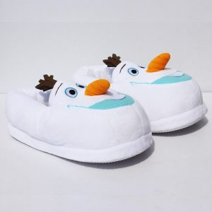 Pantoufle Olaf face