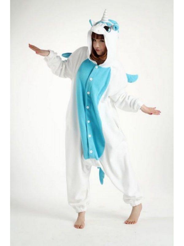 Pyjama Licorne bleu en action