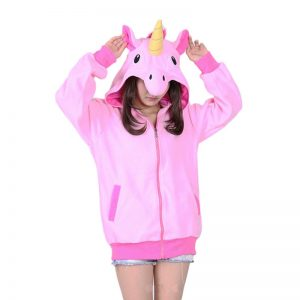 Sweat Licorne rose face
