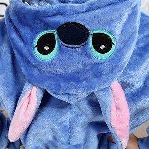 Capuche pyjama stitch enfant