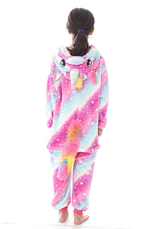 Pyjama licorne enfant (dos)