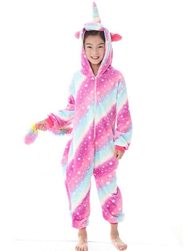 Pyjama licorne enfant (face)