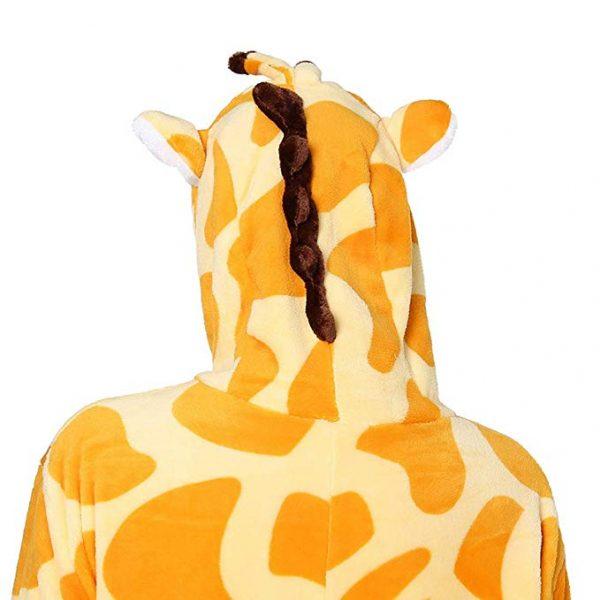 capuche pyjama girafe enfant