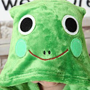 capuche pyjama grenouille enfant