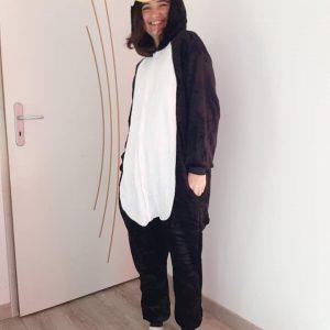 maman lilie pyjama manchot