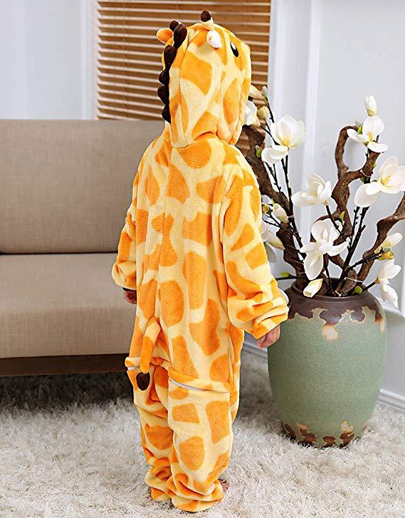 pyjama girafe enfant (dos)
