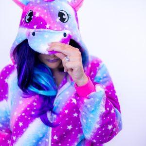 pyjama licorne capuche made me happy