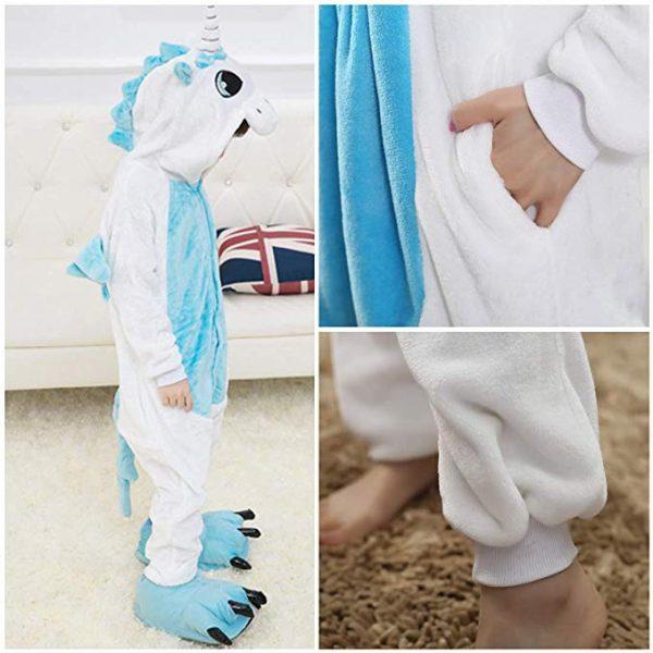 pyjama licorne enfant bleu