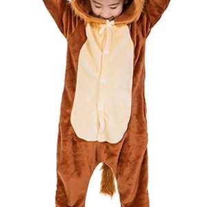 pyjama lion enfant (face)