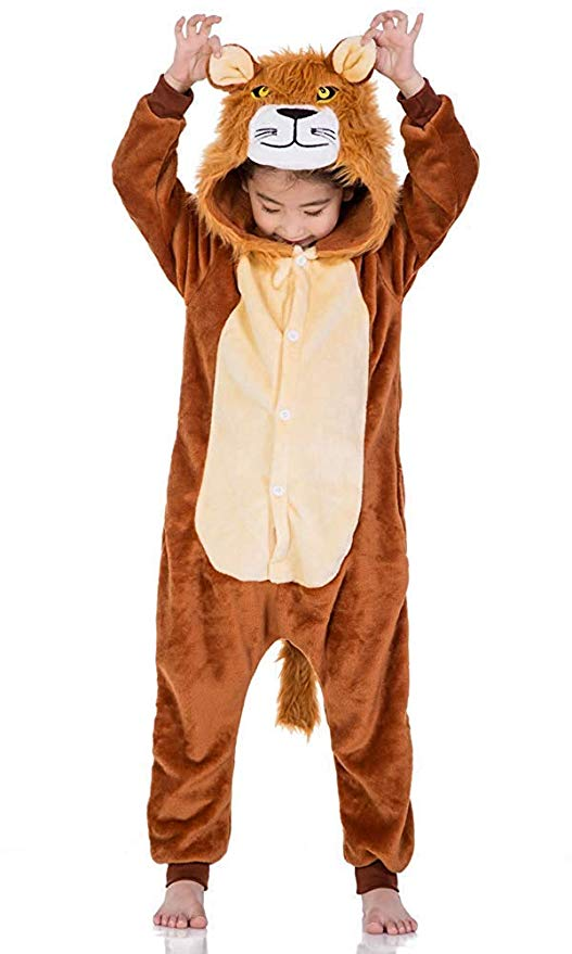 pyjama lion enfant (face)