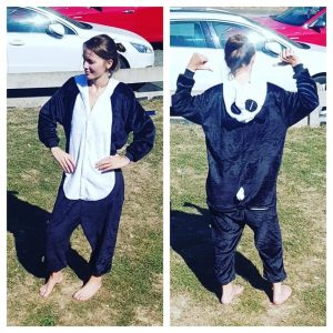 pyjama panda maman muco