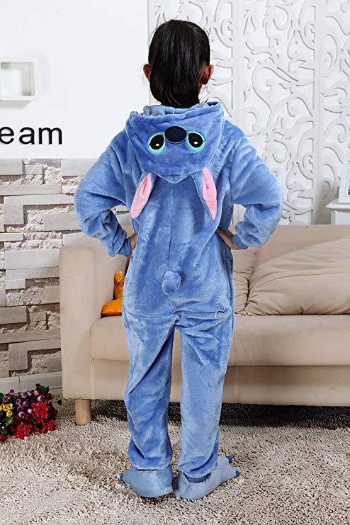 pyjama stitch enfant de dos