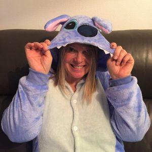 pyjama stitch maman et sa chipie