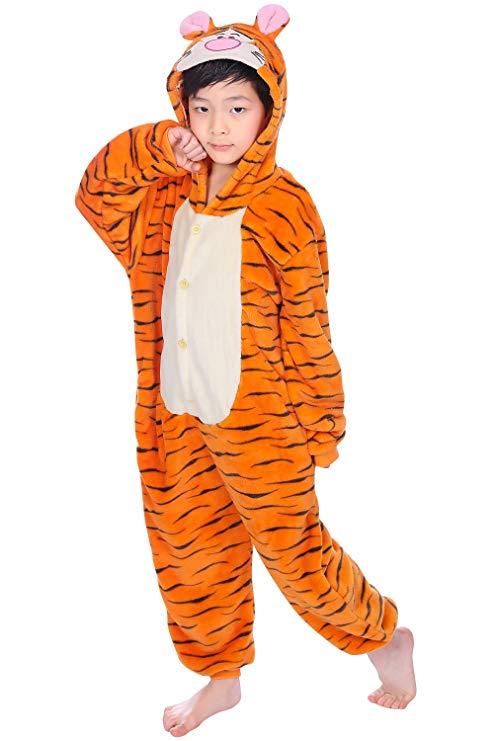 pyjama tigre enfant (face)