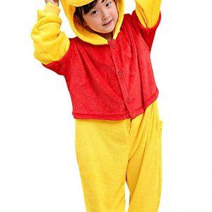 pyjama winnie ourson enfant (face)