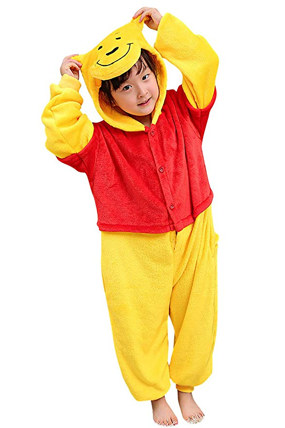 pyjama winnie ourson enfant (face)