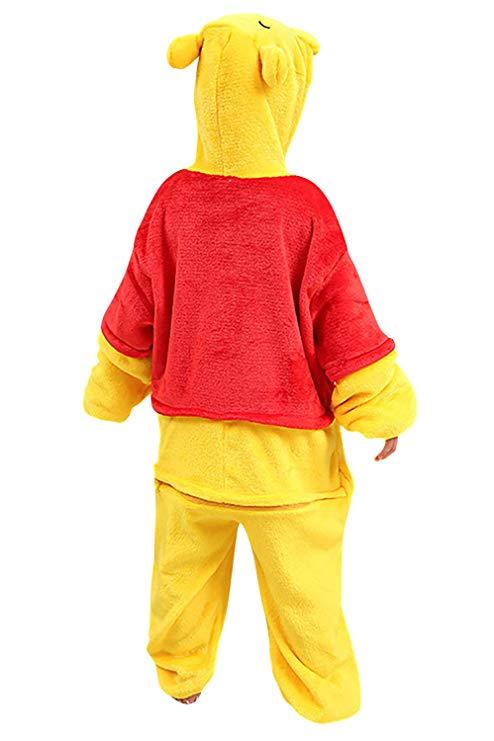 pyjama winnie ourson enfant (dos)