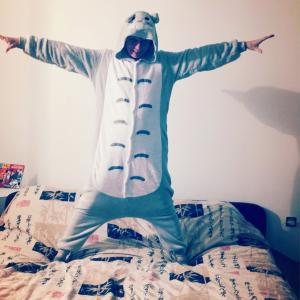maman kreen pyjama totoro
