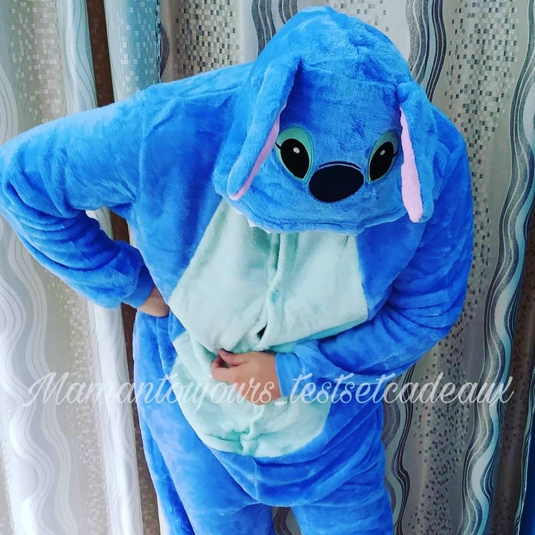 maman toujours pyjama stitch