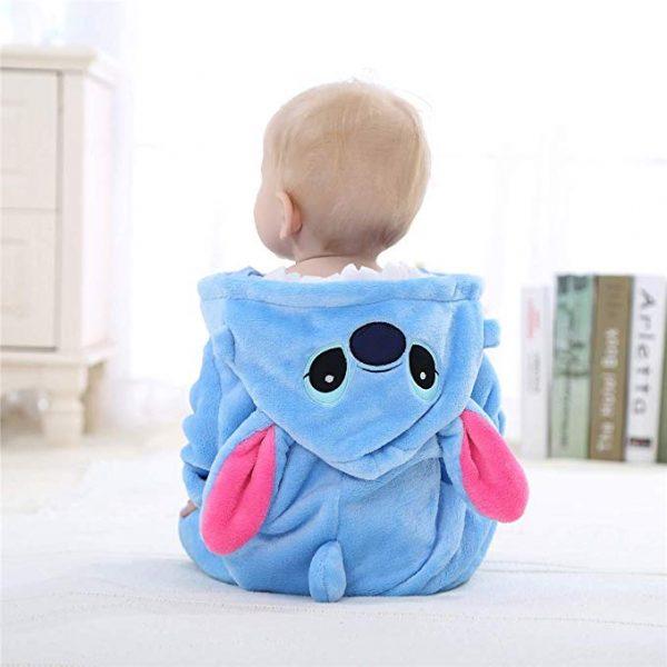 pyjama stitch bébé dos