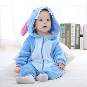 pyjama stitch bébé face
