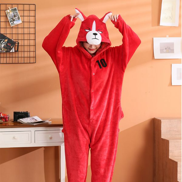 Grenouillère Pyjama Chien Roux Shiba