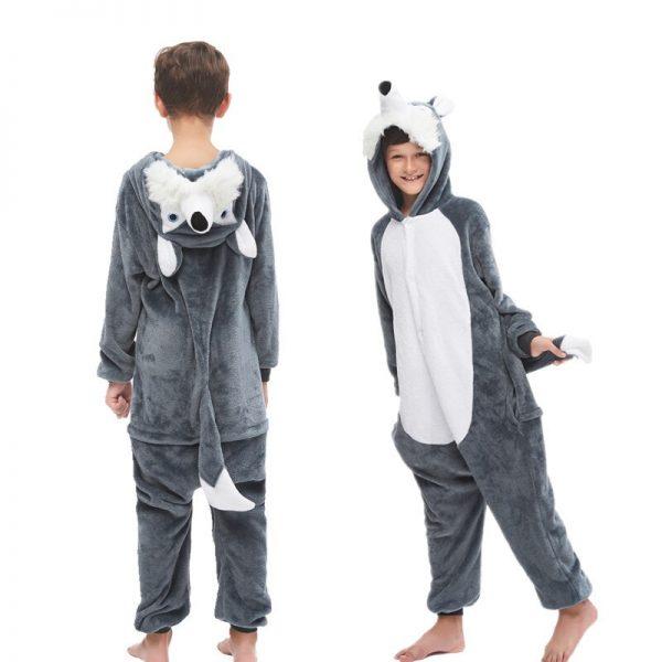 Grenouillère Pyjama Loup Enfant