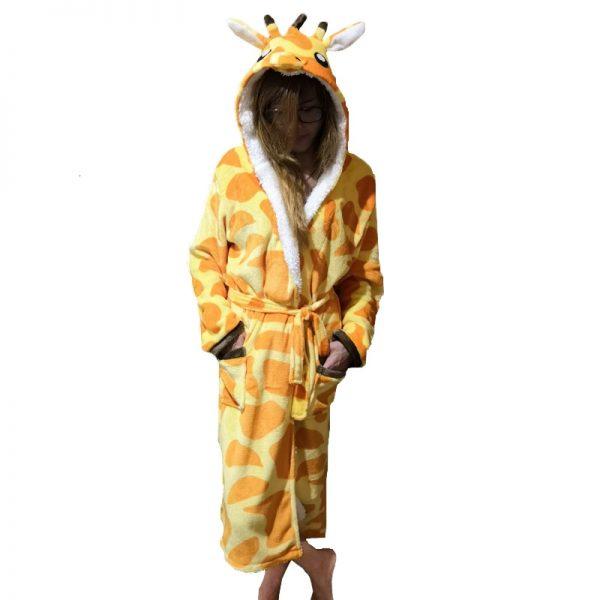 peignoir girafe