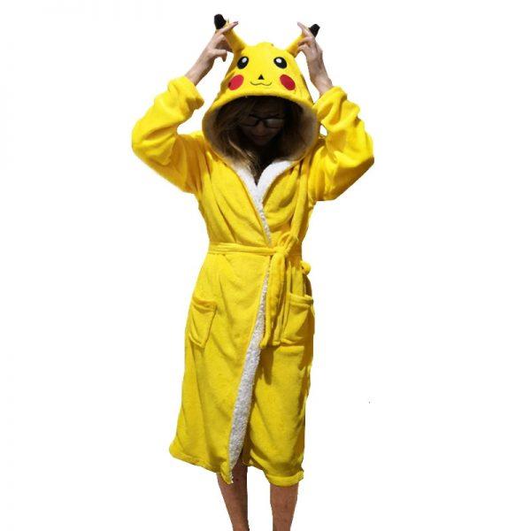 peignoir pikachu