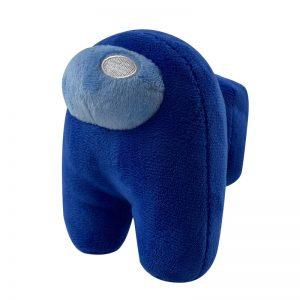 peluche among us bleu
