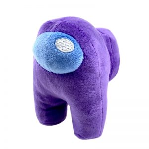 peluche among us violette