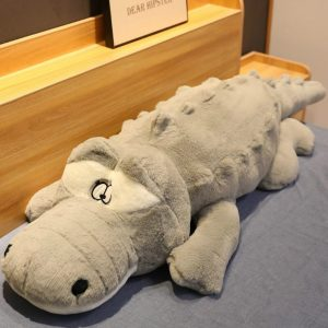 crocodile gris